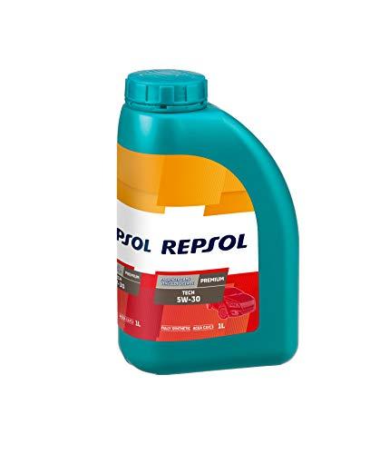 Repsol RP081L51 Premium Tech 5W-30 Aceite de Motor para Coche, 1 L