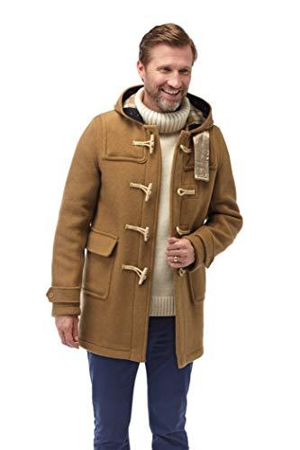 Montgomery Original Soho Elegance Duffle Coat Homme Chameau-L