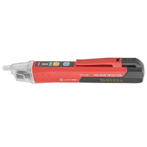 Voltímetro de lápiz de prueba de alta precisión de CA / 24 V ~ 1000 V Detectores de voltaje de CA para determinar el voltaje del cable con sensibilidad ajustable