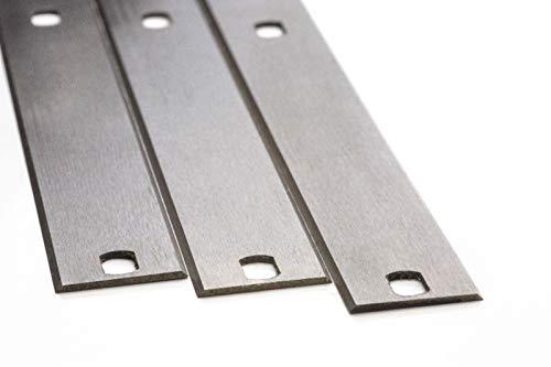 4 Stück Hobelmesser 410 x 18,6 x 1 für FELDER Hobelmaschinen Hohe Qualität