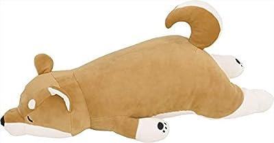 りぶはあと 抱き枕 プレミアムねむねむアニマルズ 柴犬のコタロウ Mサイズ(全長約56cm) ふわふわ もちもち 48769-44 2セット