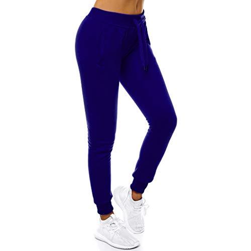 Eaylis Damen Yoga Hohe Taillen Laufhosen Feste Ausdehnungs Gamaschen Eignungs Frauen Hosen