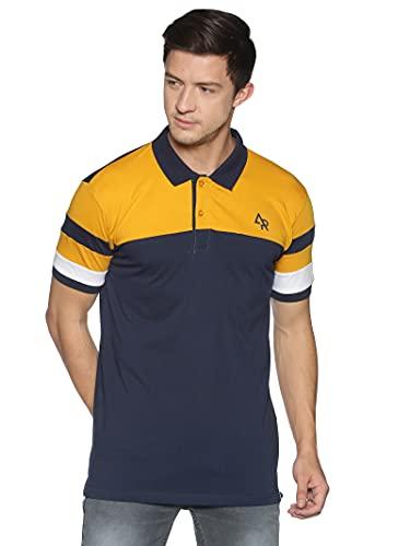 ADRO Premium Cotton White Men's Polo T-Shirts