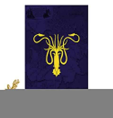 DSSPARTY Bandera de jardn para Regalo de cumpleaos, [64CM X 99CM], Maravillosa Pancarta para la Fiesta de Juego de Tronos