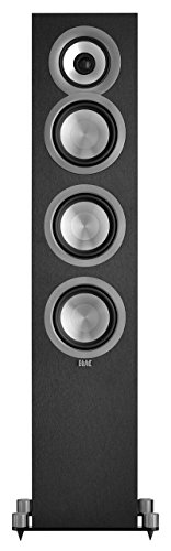 "ELAC - Uni-Fi 5-1/4"" Passive 3-Way Floor Speaker (Each) - Black"