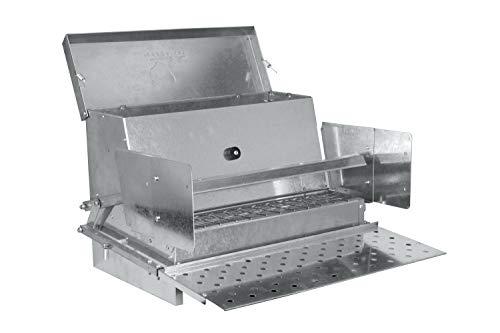 RentACoop Metallic Treadle Feeder