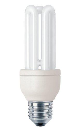Philips genie bombilla de tubo de bajo consumo 872790082739200 - Lámpara (14w, 62w, stick, a, 220 - 240v, 100 ma) plata, color blanco