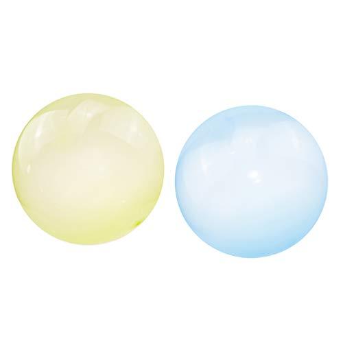 lahomia 2pcs Bubble Ball Globo Inflable Divertido Juego de Boda en La Playa Interior Juguetes