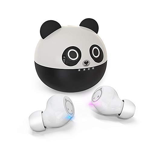 Kids Wireless Earbuds XZC Cute Panda Cartoon Design in-Ear HiFi
