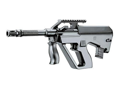 Rayline 8911 Softair Gewehr (Manuell Federdruck), Material: ABS (Stoßfest), Nachbau im Maßstab 1:1, Länge: 42cm, Gewicht: 280g, Kaliber: 6mm, Farbe: Schwarz - (unter 0,5 Joule - ab 14 Jahre)