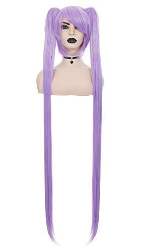 JapanAttitude Perruque Violette 120cm, Cosplay Miku Vocaloid Lucky Star Kagami