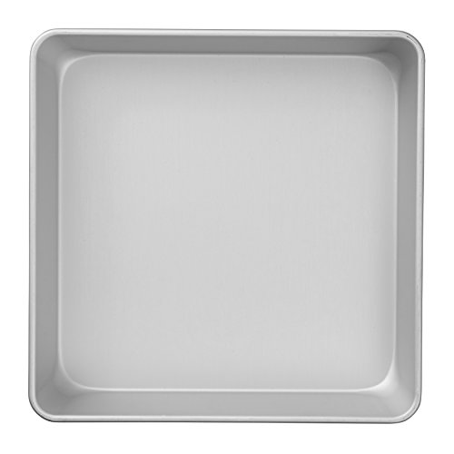 Wilton Performance Pans Aluminum Square Cake and Brownie Pan, 10-Inch