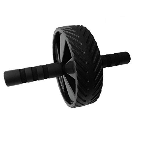 Byfri Bauchmuskeln Rad Multifunktionale Muscle Roller Silent-super Große Runde Bauchtrainer Fitness Shaping Schwarz