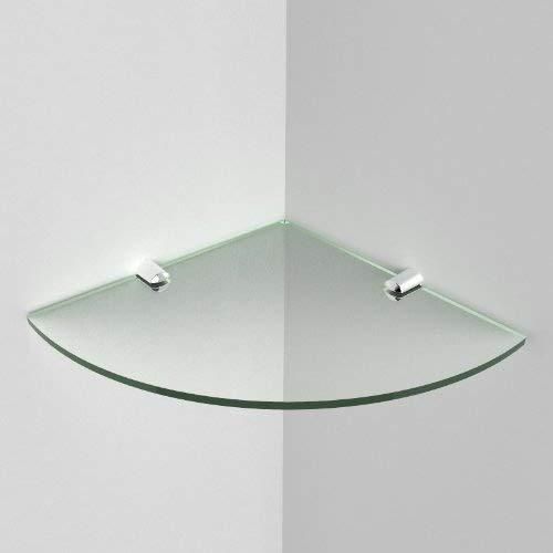 Acryl Eck-Regal, Winkel: 5mm, Acryl, Maße:200mm,Größe: ca. 20,3cm, Materialprobe für Versand inklusive zeitgenössisch Glass Effect