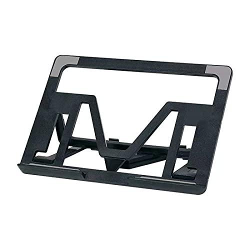 MEYYY Soporte ajustable para ordenador portátil, soporte de ordenador, soporte ergonómico para ordenador portátil, compatible con 10 a 17,3 pulgadas, aluminio negro
