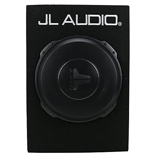 JL Audio CS112TG-TW3 Sealed PowerWedge Truck Style Enclosure with One 12' TW3 Subwoofer