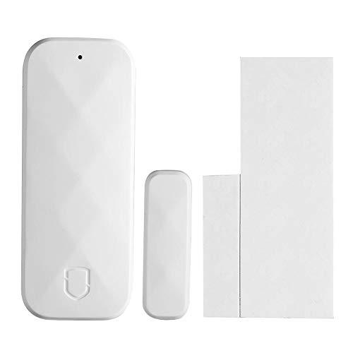 Tuya WiFi Tür-Alarm, Sicherheitssensor für Zuhause, Diebstahlschutz für Zuhause, magnetisch, für Türen und Fenster