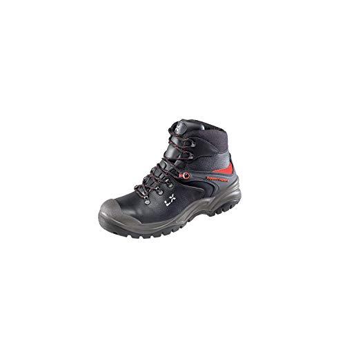 Lupriflex 1 Paar Trail Duo Boot Mittelhoher Sicherheitsschuh, S3, Schuhweite 11,5 Schwarz Größe 45