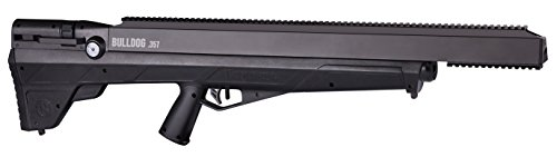 Benjamin BPBD3S Bulldog .357 PCP Hunting Rifle With Reversible Sidelever Bolt Action, Black