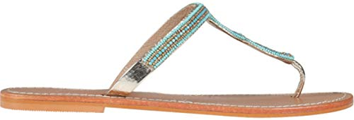 Star Mela Damen Sandale Cinta mit Perlen-Strass-Detail 41