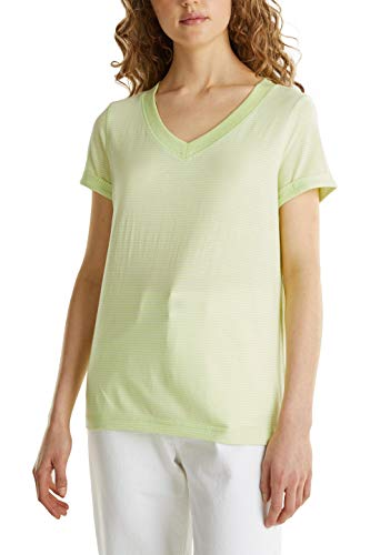 edc by Esprit 030CC1K308 T-Shirt, 760/Lime Giallo, S Donna
