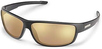 Suncloud Voucher Polarized Matte Black Sport Wrap Men's Sunglasses