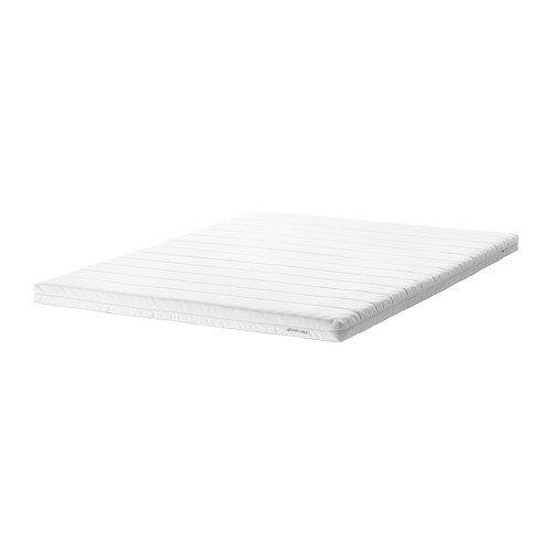 IKEA MOSHULT Schaummatratze in weiß; fest; (140x200cm)