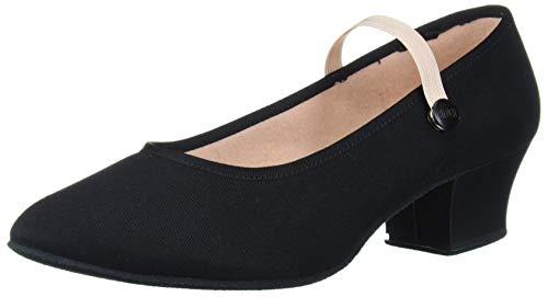 Bloch Women's Tempo Accent Dance Shoe, Black, 10.5 Medium US