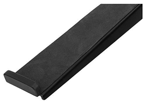 Pronomic LS-110 Laptopständer DJ Notebookstativ Laptop Stand (Höhenverstellbar, inkl. Befestigungsklammern, ideal für DJs & Musiker, Material: Stahl) Schwarz