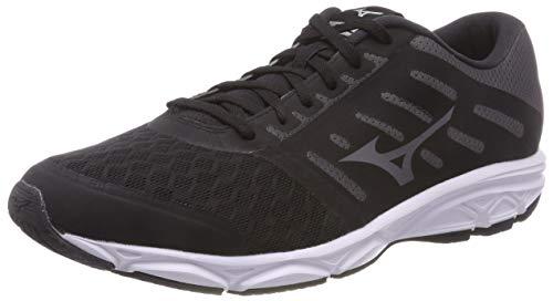 Mizuno Ezrun, Zapatillas de Running para Hombre, Negro (Black/Magnet/White 52), 44 EU