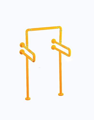 Compatibilidad con pasamanos de seguridad de baño, barra de baño de seguridad, discapacitados, ancianos, pasamanos de acero inoxidable sin barreras para hombre, batas de baño para hombres de baño (col