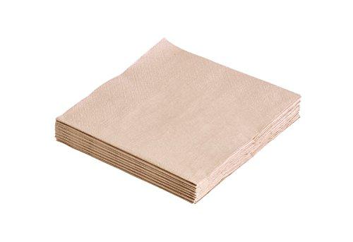 Papier-Servietten Sand 33x33cm (20Stück)