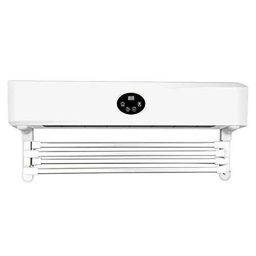 Calentador De Toallas Eléctrico, Secador Toallas UV Temporizado por Inducción del Cuerpo...