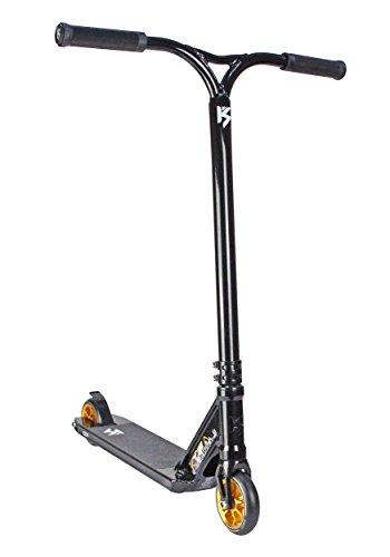 Trottinette complète Pro Icon Pro Stunt - Plusieurs couleurs disponibles, noir, Deck: 485mm x 120mm - Bar: 585mm High x 560mm Wide