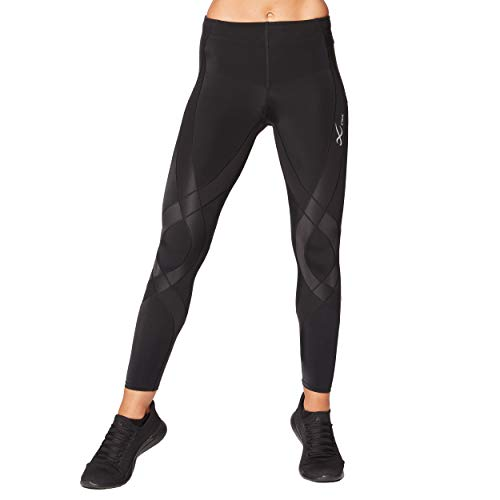 CW-X Women's Endurance Generator Joint and Muscle Support Compression Tight, Jet Black, Large