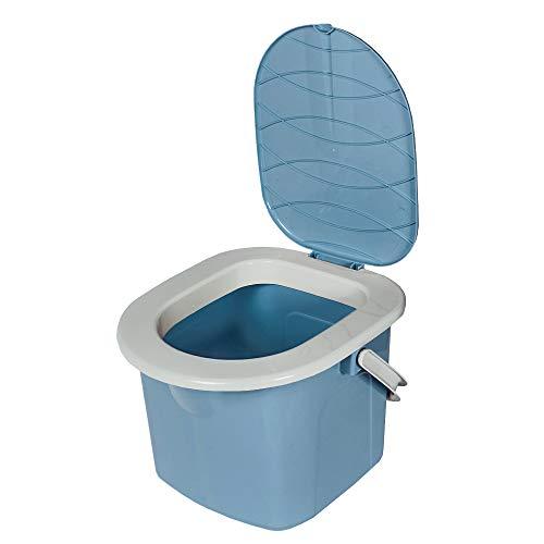 BRANQ - Inodoro de Caravana para jóvenes, Color Azul Claro, 31,0 x 31,0 x 28,0 cm (Largo x Alto x Ancho)