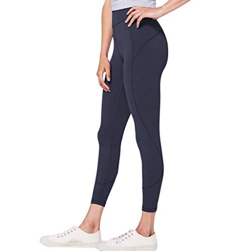 BOLAWOO-77 Las Mujeres Pantalones De Cintura Alta Yoga De La Mode Básicos Aptitud Monocromática De Secado Rápido Pantalones De Deporte Corrientes De La Mujer Pantalones De Chándal De Ropa De Moda