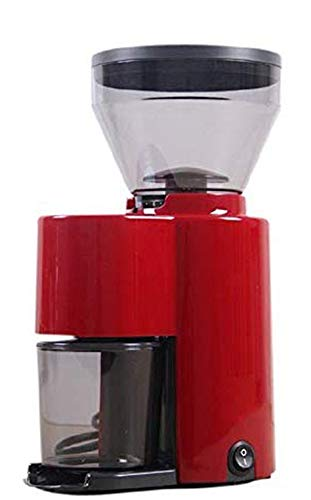 Find Discount CGOLDENWALL ZD-10 Electric Bean Grinding Machine Semi-Automatic Coffee Bean Grinder Burr Coffee Mill Nut and Spice Maker (110V, Red)