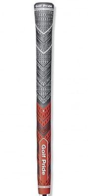 Golf Pride MCC Plus4 New Decade MultiCompound Golf Grip, Standard, Red/Gray