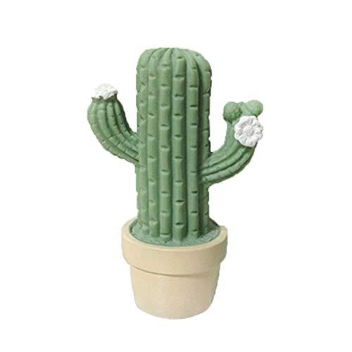 Mallalah Cactus - Lámpara LED de neón con base de luz nocturna con cactus, lámpara de ambiente, batería de funcionamiento para interior de salón, dormitorio, fiesta de cumpleaños