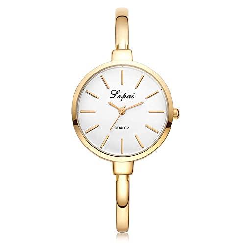 Conjunto de Relojes de Pulsera de Marca Superior para Mujer, Reloj de Pulsera de Moda para Mujer, Reloj de Pulsera para Mujer, Conjunto de Reloj de Cuarzo de Oro Rosa de Lujo, montre Femme