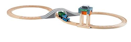 Mattel Fisher-Price BBD10 - Fisher Price Thomas und seine Freunde Großes Kohlenstation-Bahnset aus Holz, Puppe