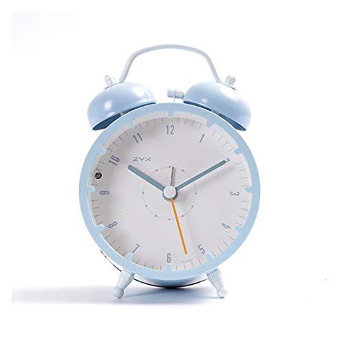 zhenxin Despertador Reloj Despertador silencioso estudiantil con Despertador sólido Reloj Retro Mini Reloj Despertador Retro (Color : B11)
