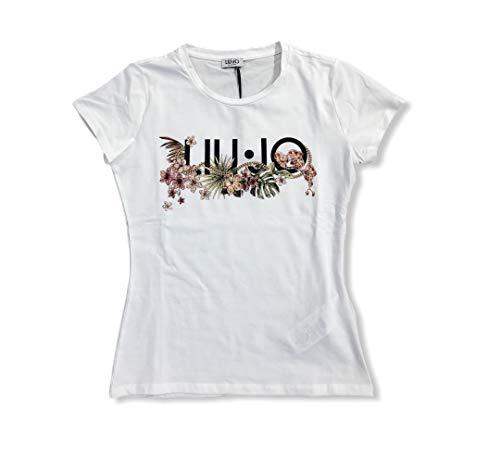 LIUJO t-Shirt Moda Manica Corta FA0422J5003 U9997 B.Ott LIUJO Chai, XS
