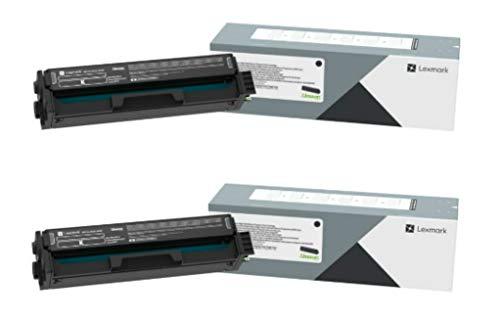 Lexmark C320010 Black Toner Cartridge 2-Pack for C3224, MC3224, BND02218