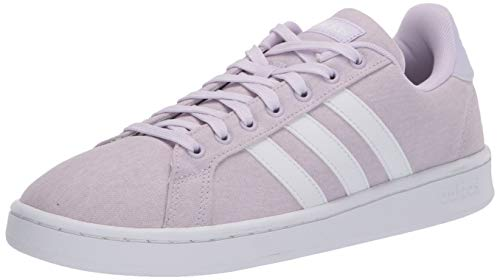 adidas Grand Court, Zapatillas Deportivas Mujer, Color Lila FTWR Blanco FTWR Blanco, 36 EU