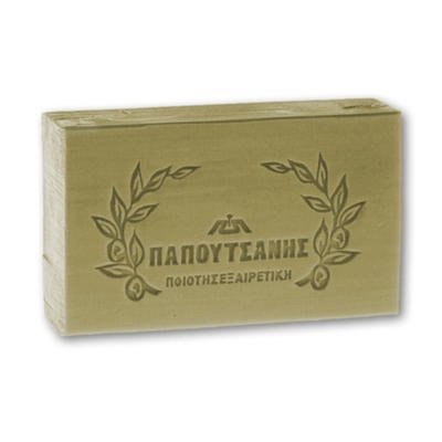 Papoutsanis Olivia Natural Bar Soap with olive oil 125g