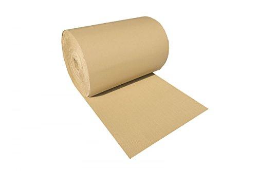 Rollo cartón ondulado 90cm x 100 metros