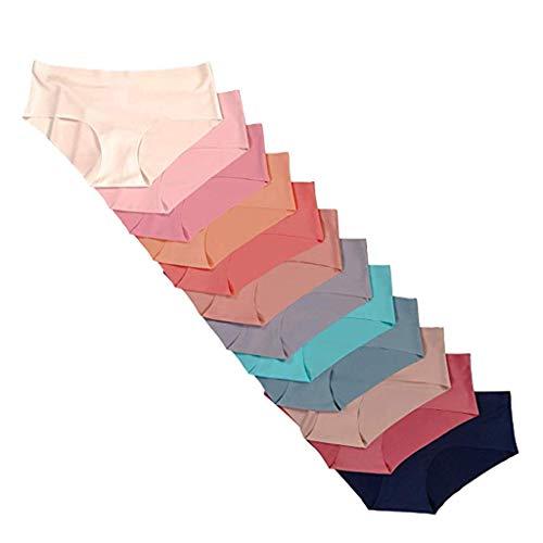 Preisvergleich Produktbild WUSIKY Sexy UnterwäSche Damen Erotik Lingerie 12Er Pack Unterhosen (Mehrfarbig, M)
