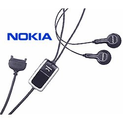 Hörer und Headset ein; Original Freisprecheinrichtung, für NOKIA HS - 23 comp/N71 N73 N93 N93i N80 E60 E61 E70 E50 7360/7370 6280